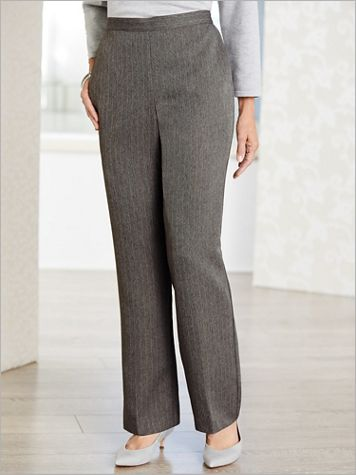Sapphire Skies Stripe Pants by Alfred Dunner - Image 2 of 2