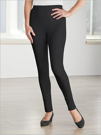 Slimtacular® Ponte Knit Leggings - Image 1 of 4