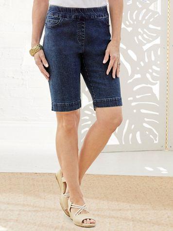 Slimtacular® Denim Shorts - Image 1 of 4