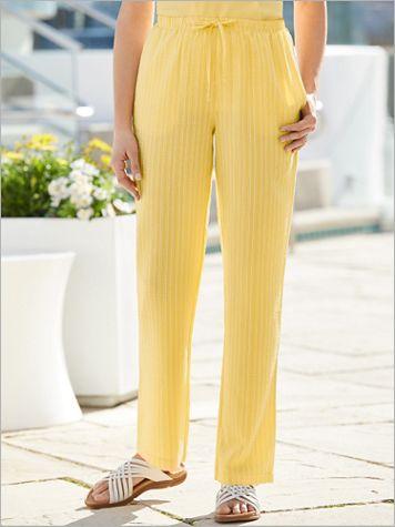 Pucker Stripe Pants - Image 2 of 2