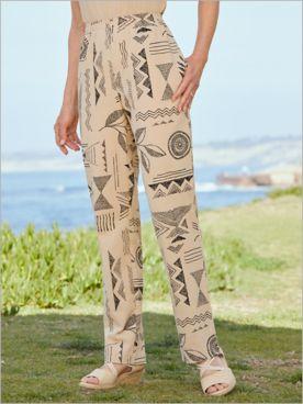 Stamp Print Mojave® Pants