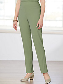Look-Of-Linen Slim Pants