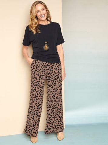Premium Knit Dolman Top & Animal Instinct Knit Pants
