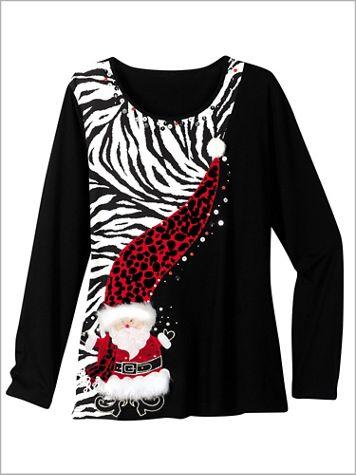 Zebra Santa Tee - Image 3 of 3