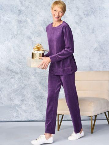 Everyday Velour Tunic & Premium Pants by D&D Lifestyle™