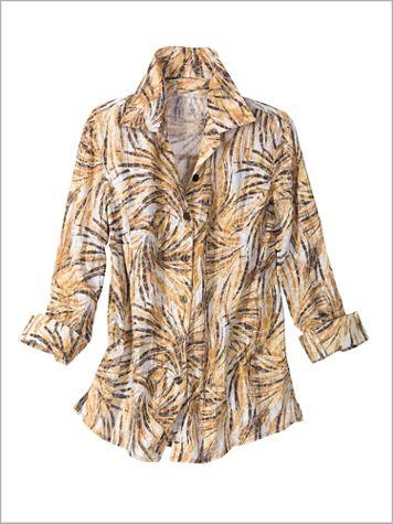 Cracked Crinkle Shirt - Image 0 of 1