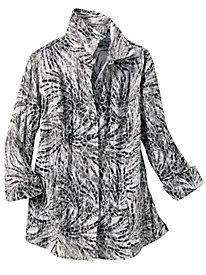 Cracked Crinkle Shirt