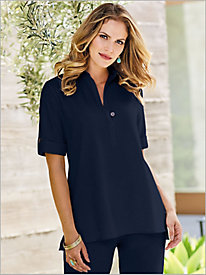 Look-Of-Linen Tunic