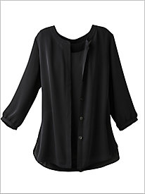 Luxe Georgette Shirt