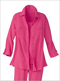 Pintuck Mojave® Big Shirt