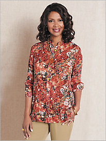 Fall Foliage Big Shirt