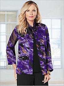 Royal Purple Burnout Shirt