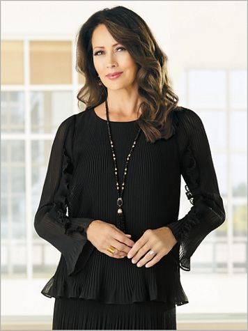 Pretty & Pleated Blouse - Image 2 of 2