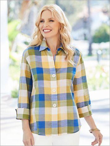 Picnic Plaid Shirt by Foxcroft - Image 0 of 1