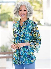 Ultimate Fit Floral Shirt