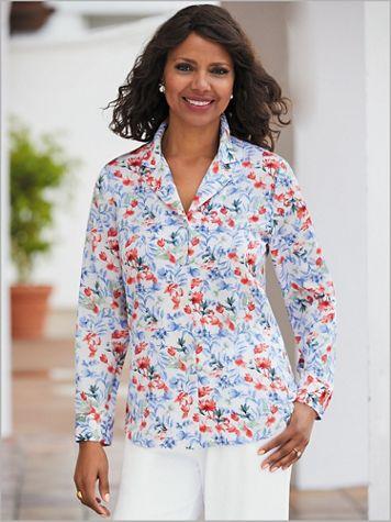Americana Floral Big Shirt - Image 2 of 2
