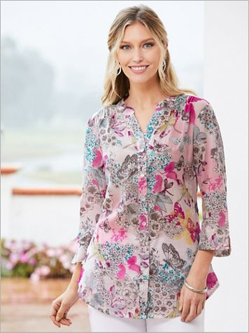 Mystical Garden ¾ Sleeve Shirt - Image 2 of 2