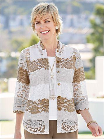 Provence Lace Big Shirt - Image 2 of 2