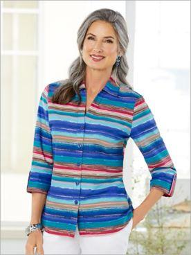 Arizona Sunrise Stripe Shirt