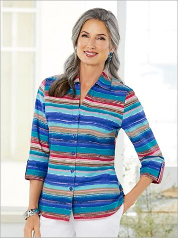 Arizona Sunrise Stripe Shirt - Image 2 of 2