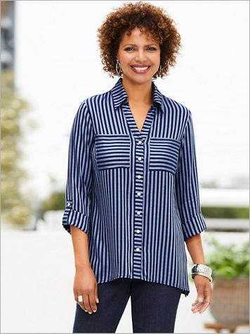 Stripe It Right Shirt - Image 1 of 2