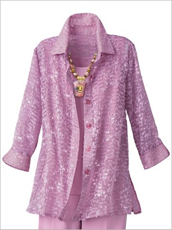 Orchid Burnout Shirt - Image 2 of 2