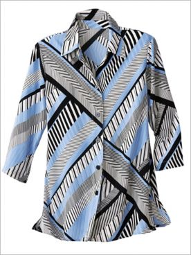 Metro Stripes Shirt by Brownstone Studio®