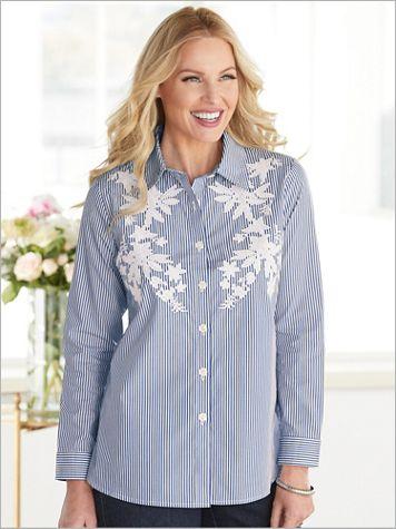 Stripe Appliqué Shirt - Image 2 of 2