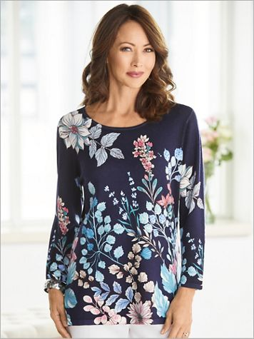 Floral Garden Sweater - Image 3 of 3