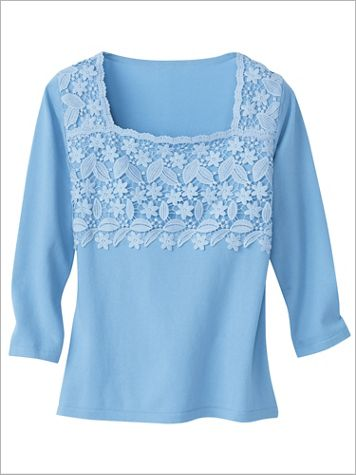 Lovely Lace Sweater - Image 1 of 3