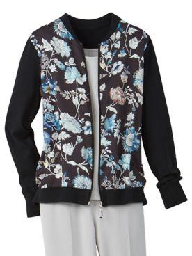 Romantic Rose Long Sleeve Cardigan Sweater