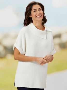 Picadilly Sparkle Envelope Sweater
