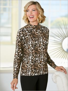 Lovely Leopard Sweater