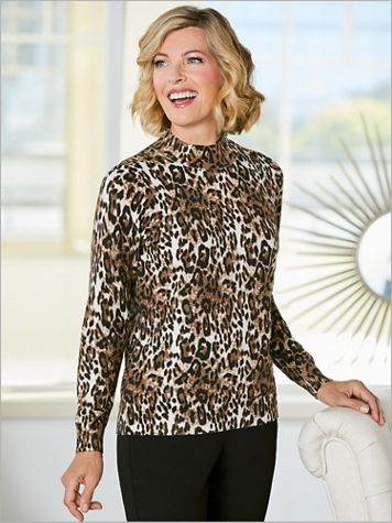 Lovely Leopard Sweater - Image 2 of 2