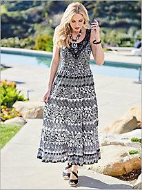 Barista Lace Inset Dress