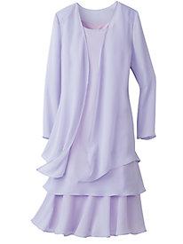Fluttery, Flirty Jacket Dress