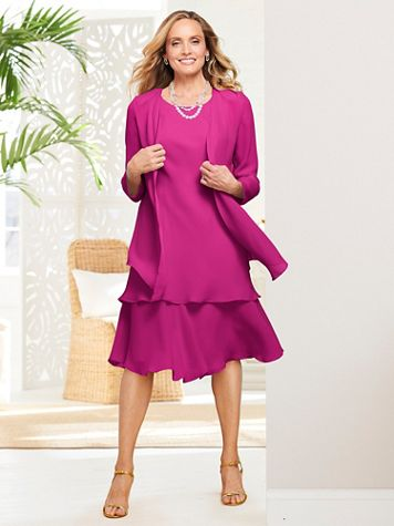 Special Occasion Flirty Jacket Dress - Image 1 of 12