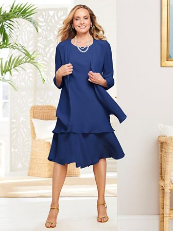 Special Occasion Flirty Jacket Dress - Image 1 of 9