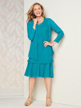 Special Occasion Flirty Jacket Dress
