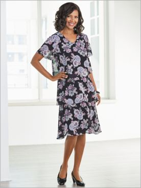 Devotion Floral Dress