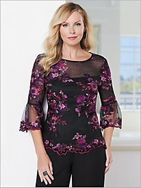Forever Floret Top by Alex Evenings