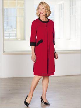 Ponte Knit Dress Set
