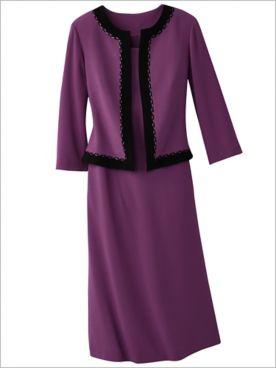 Classic Chloe Jacket Dress