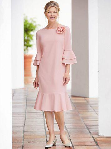 Corsage Dress - Image 1 of 3