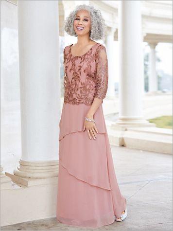 Embellished Tiered Dress - Image 3 of 3