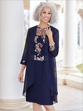 Floret Jacket Dress