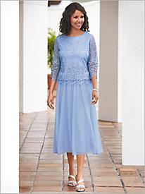 Romantic Lace Dress by Alex Evenings