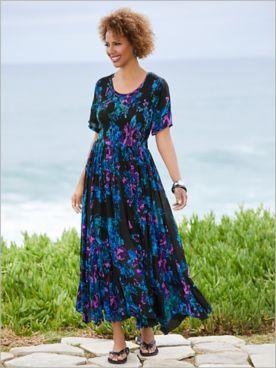 In Full Bloom Smocked Dress