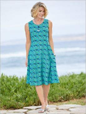 Destination Knits Geo Swirl Dress