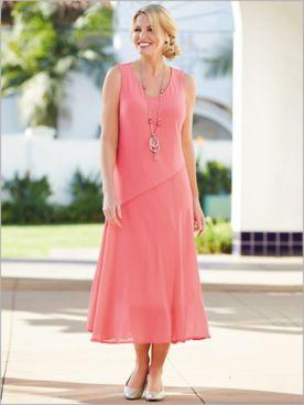 Coral Romance Dress